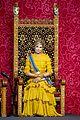 queen maxima gloves dress match prince day netherlands 09