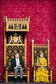 queen maxima gloves dress match prince day netherlands 17