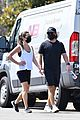 lea michele zandy reich on a walk 47