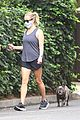 reese witherspoon walk with french bulldog 01