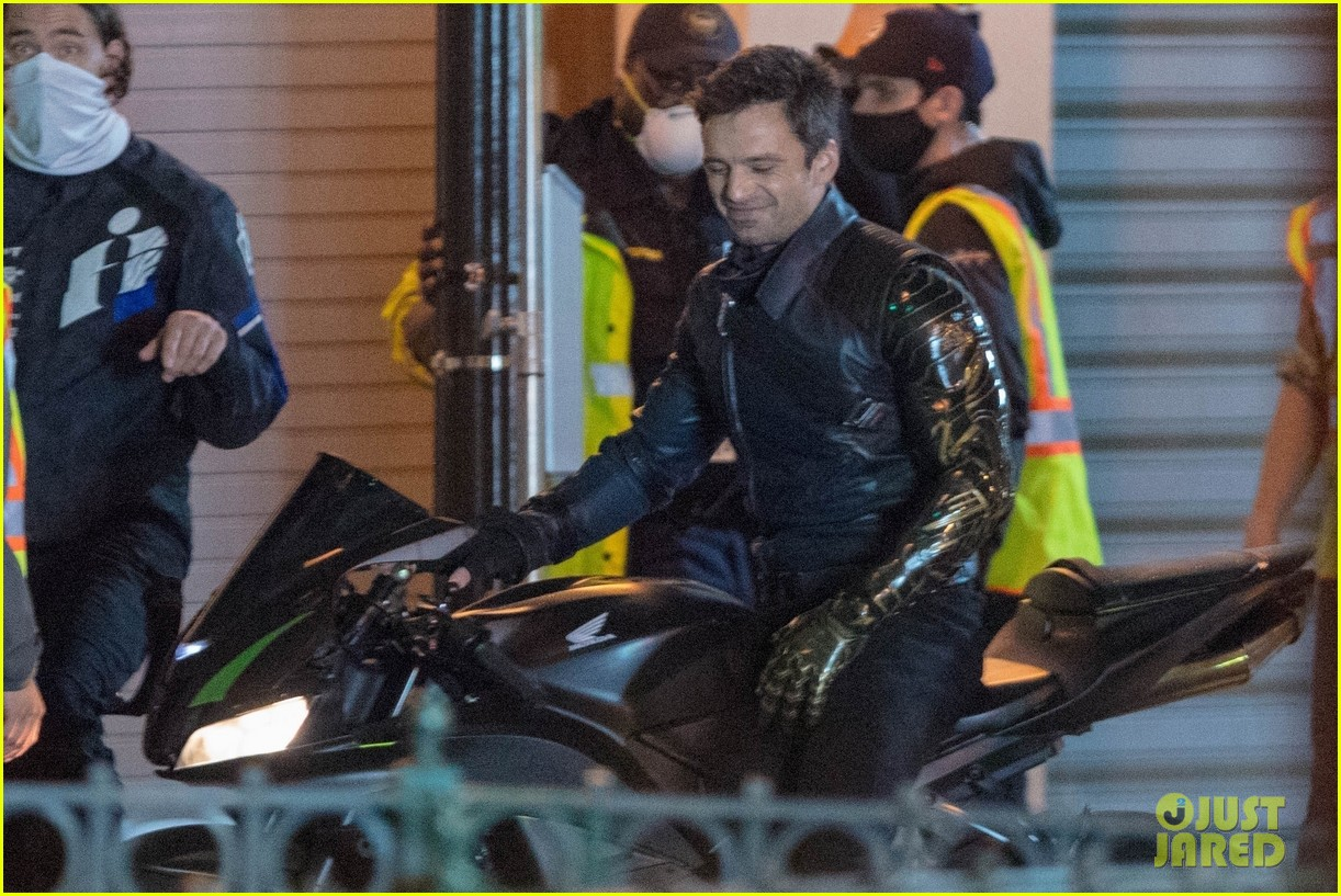 sebastian stan films the falcon and the winter soldier atlanta 124485169