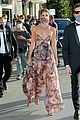 taylor hill matches mask to dress venice film festival 45