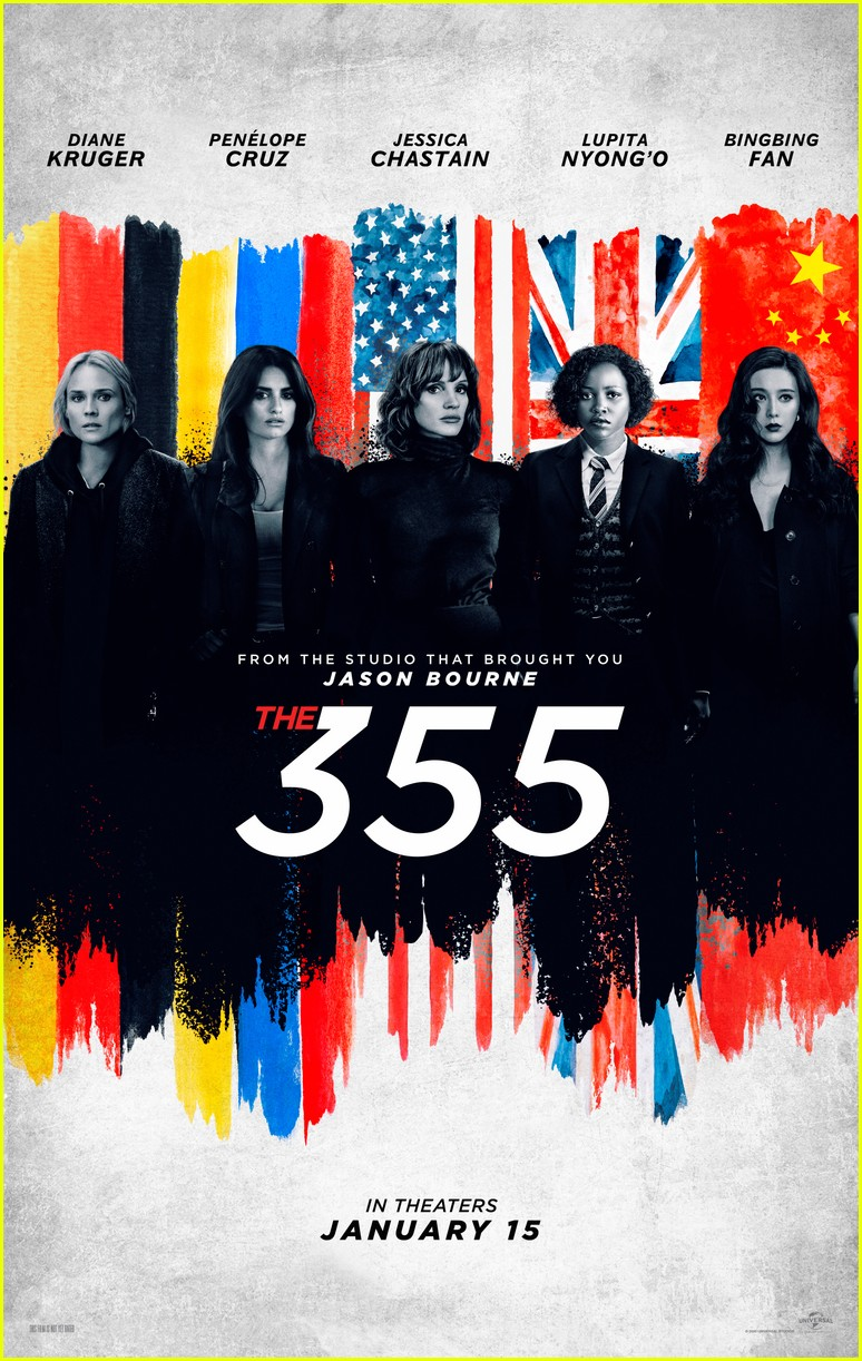 jessica chastain the 355 trailer 134490655