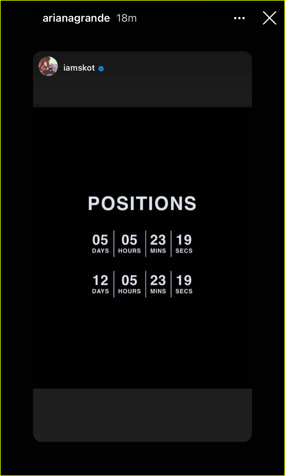 ariana grande positions album title4493743