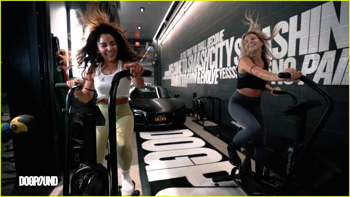 vanessa hudgens gg magree take fans into the dogpound 074493704