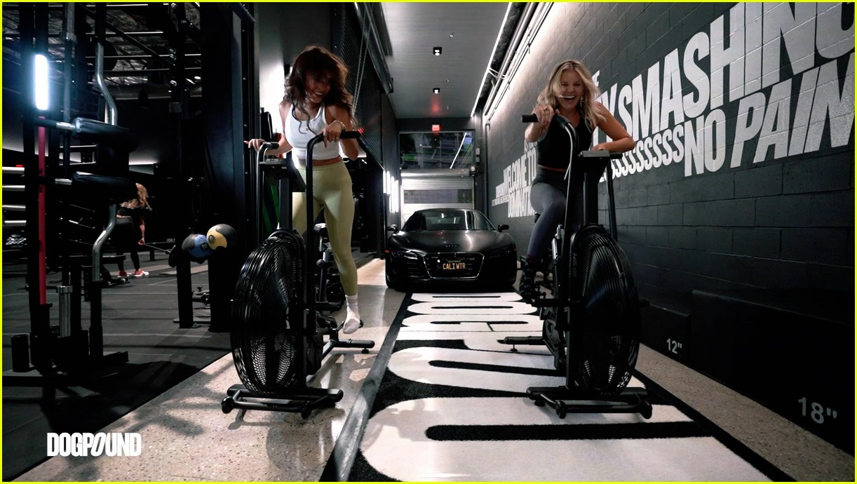 vanessa hudgens gg magree take fans into the dogpound 214493718