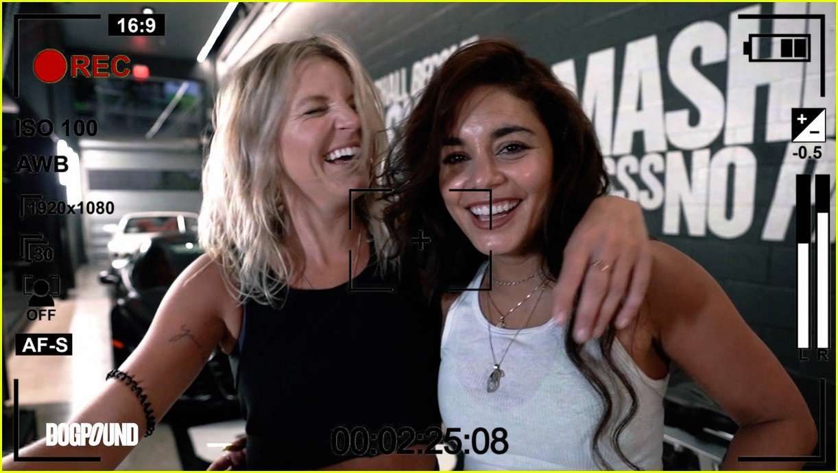 vanessa hudgens gg magree take fans into the dogpound 224493719