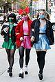 Photo 2 of Lili Reinhart, Madelaine Petsch, & Camila Mendes Dress Up as Powerpuff Girls for Halloween!