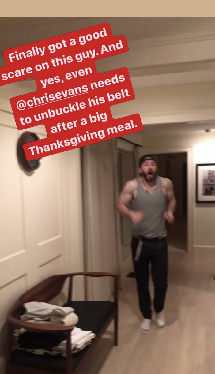 scott evans scares brother chris thanksgiving 024504234
