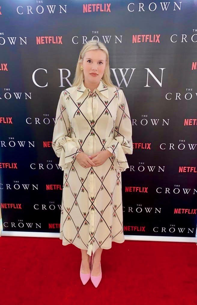 crown cast took own premiere pics at home lockdown 074500064