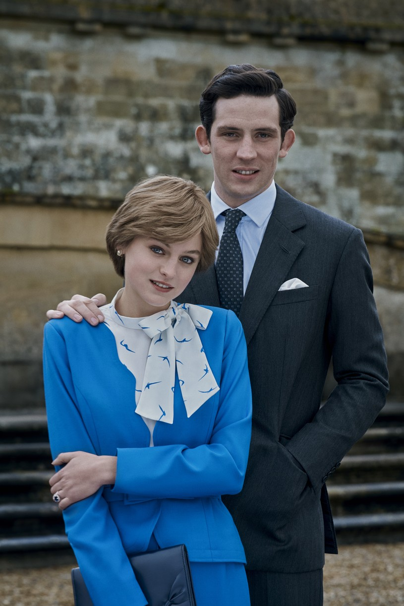 emma corrin josh oconnor no royal wedding crown 034500537