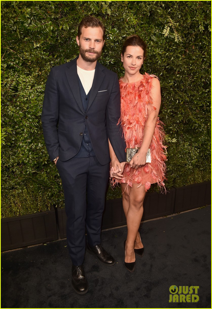 jamie dornan wife amelia warner composing score for movie 164502231