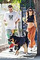 emily ratajkowski shows off bare baby bump hike with hubby 41