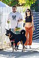 emily ratajkowski shows off bare baby bump hike with hubby 45