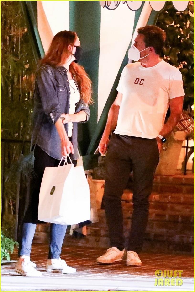 jon hamm date night with girlfriend anna osceola 134502170
