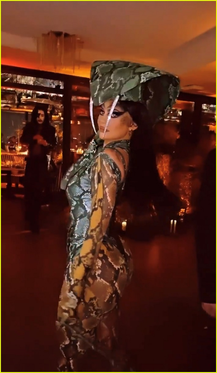 Kendall Jenner Hosts Star-Studded Halloween Party To