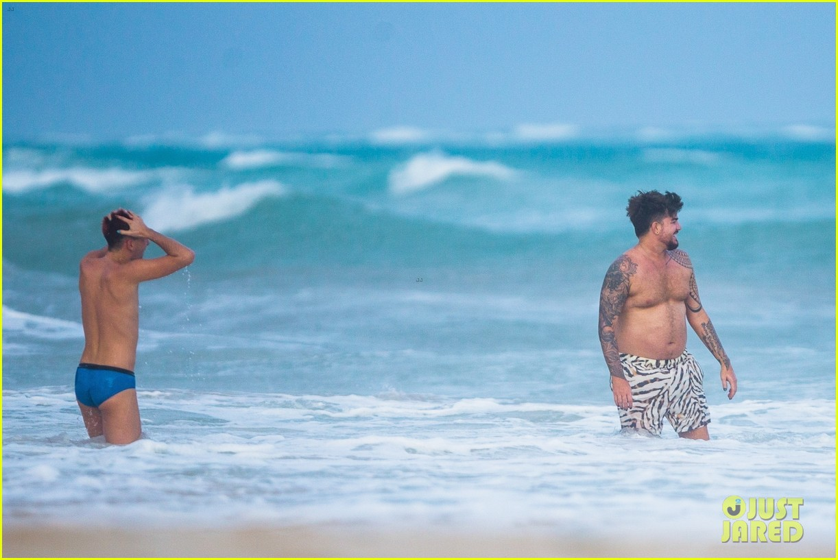 adam lambert packs on pda with new boyfriend oliver gliese 204502022
