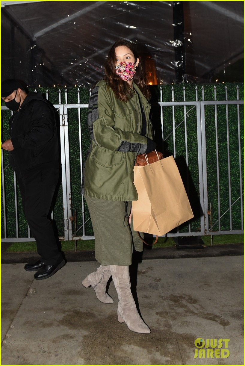 pregnant katharine mcphee at dinner and salon 074502340