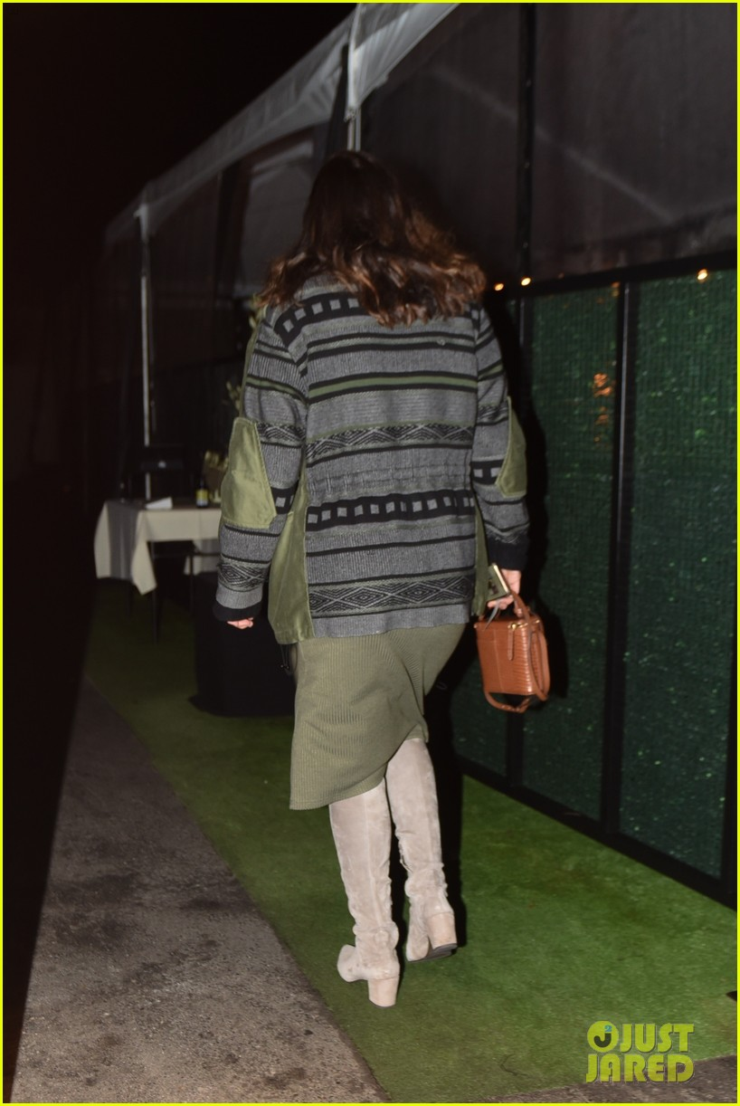 pregnant katharine mcphee at dinner and salon 254502358