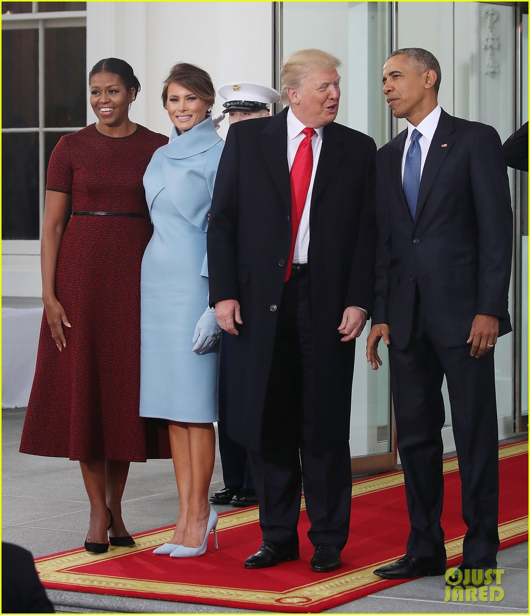 michelle obama looks back at presidential transitions 014501233