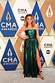 carly pearce cma awards 2020 red carpet 01
