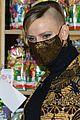 princess charlene monaco shaved half head gift distribution 32