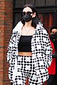 dua lipa bold look ahead of snowstorm 04