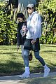 kaia gerber jacob elordi take her dog for a walk 03