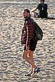 carl lentz ripped body at the beach 49