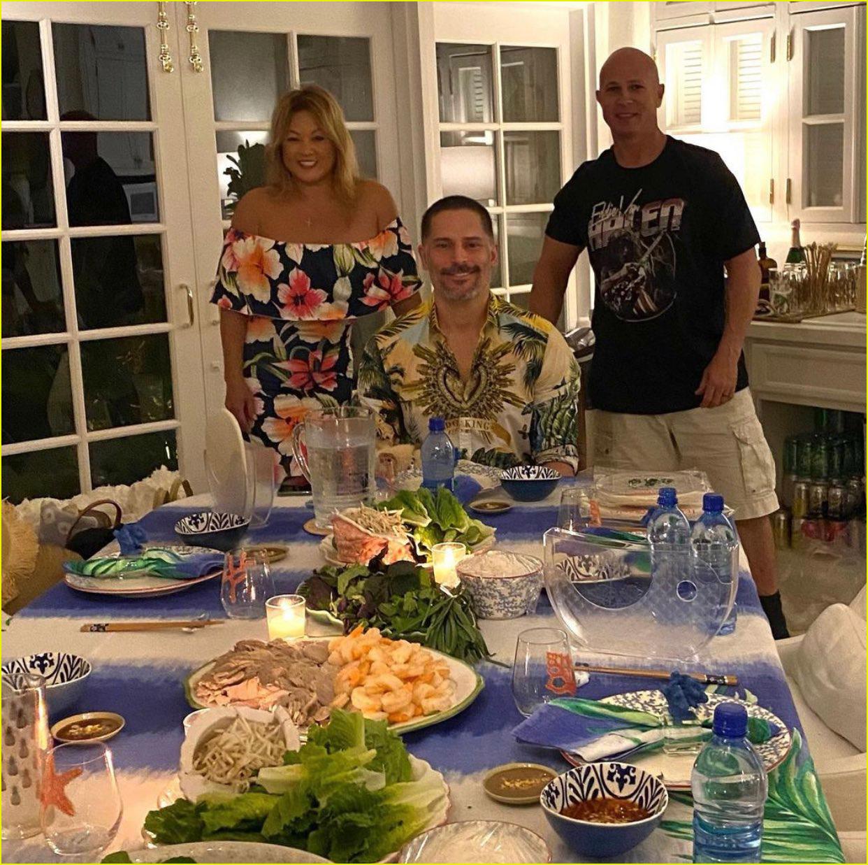 sofia vergara photos joe manganiello 44 birthday dinner 054512426