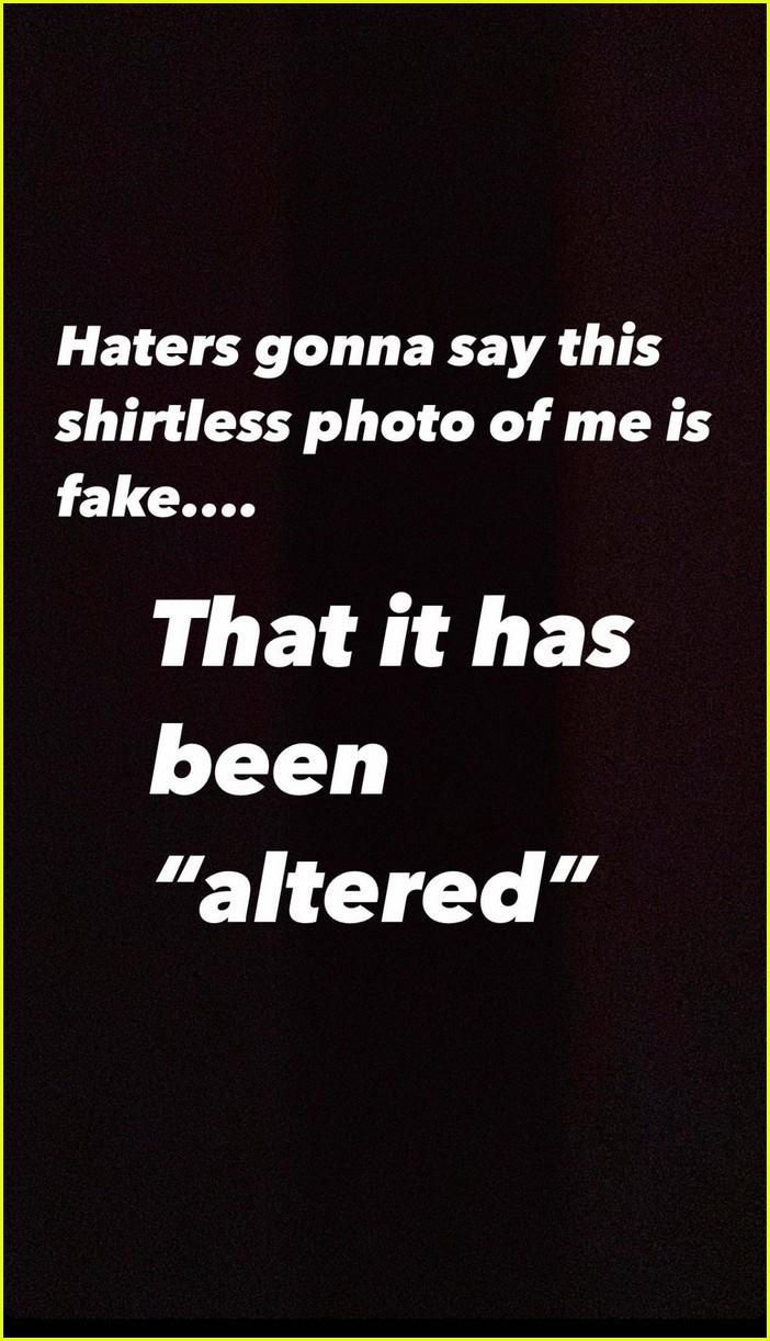chris pratt shares shirtless selfie with filter 014511844