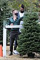 ryan russell corey obrien christmas tree shopping 16