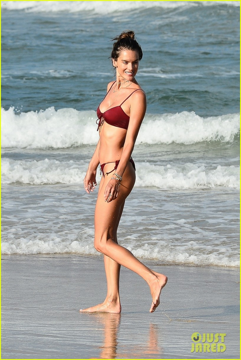 alessandara ambrosio enjoys workout on beach brazil 014516750