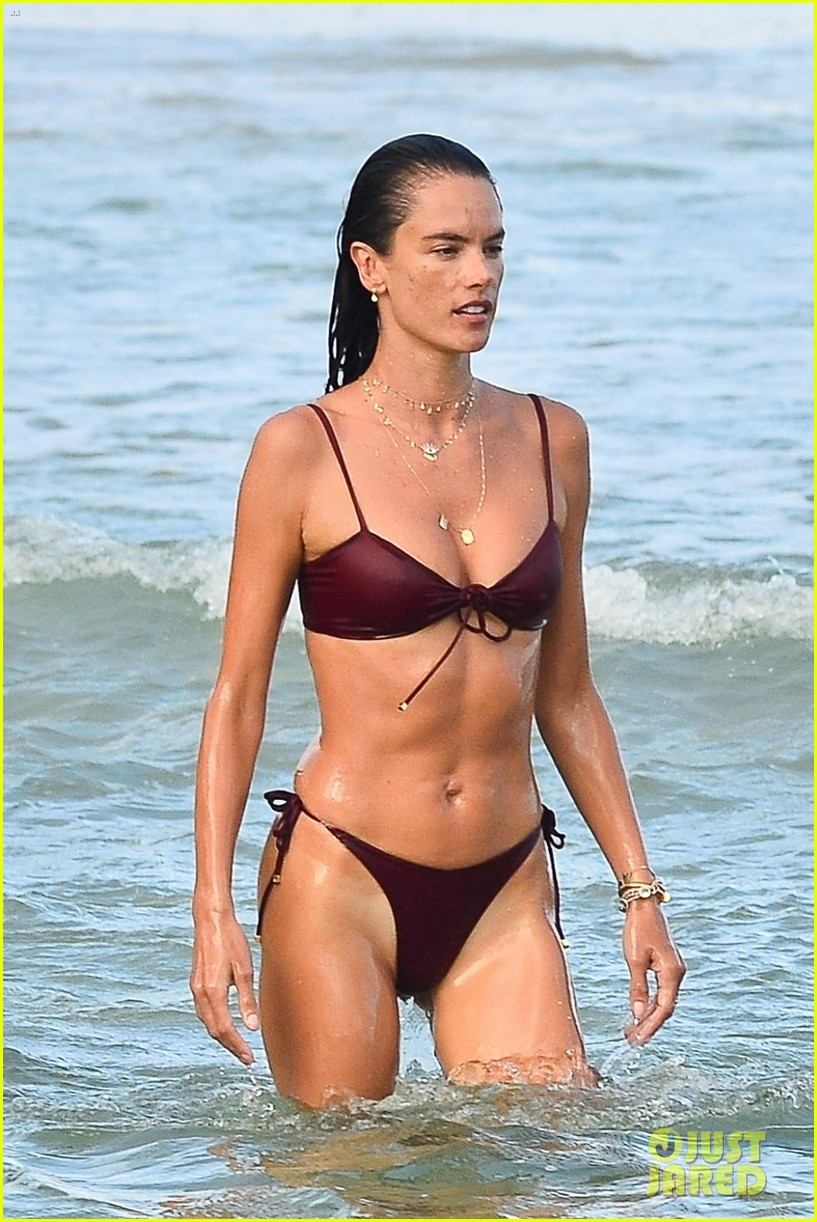 alessandara ambrosio enjoys workout on beach brazil 074516756