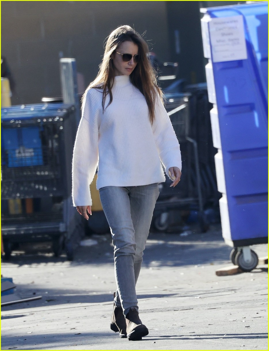 lilly collins recycling 414516579