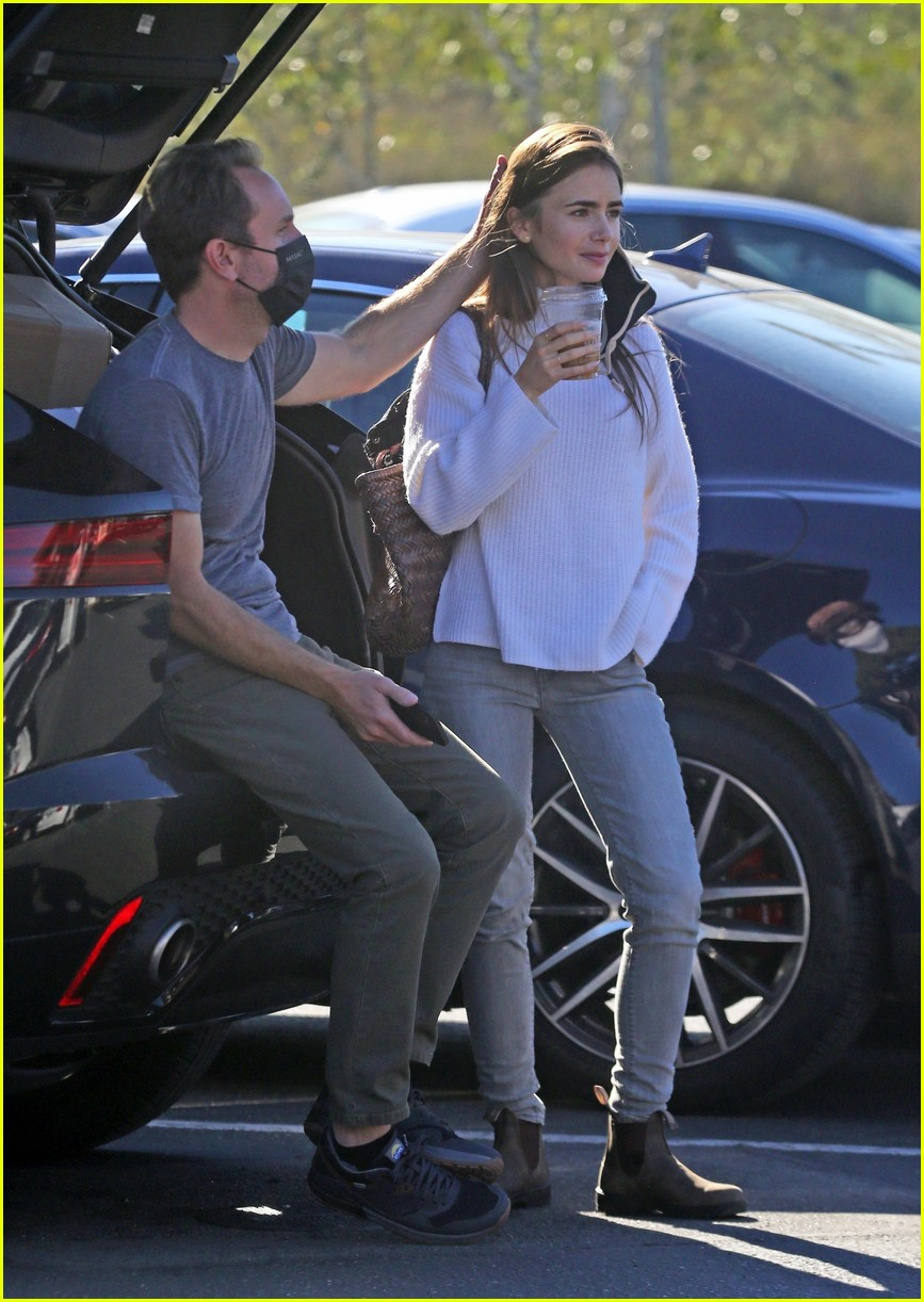 lilly collins recycling 494516587
