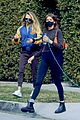 cara delevingne kaia gerber another pilates session 09