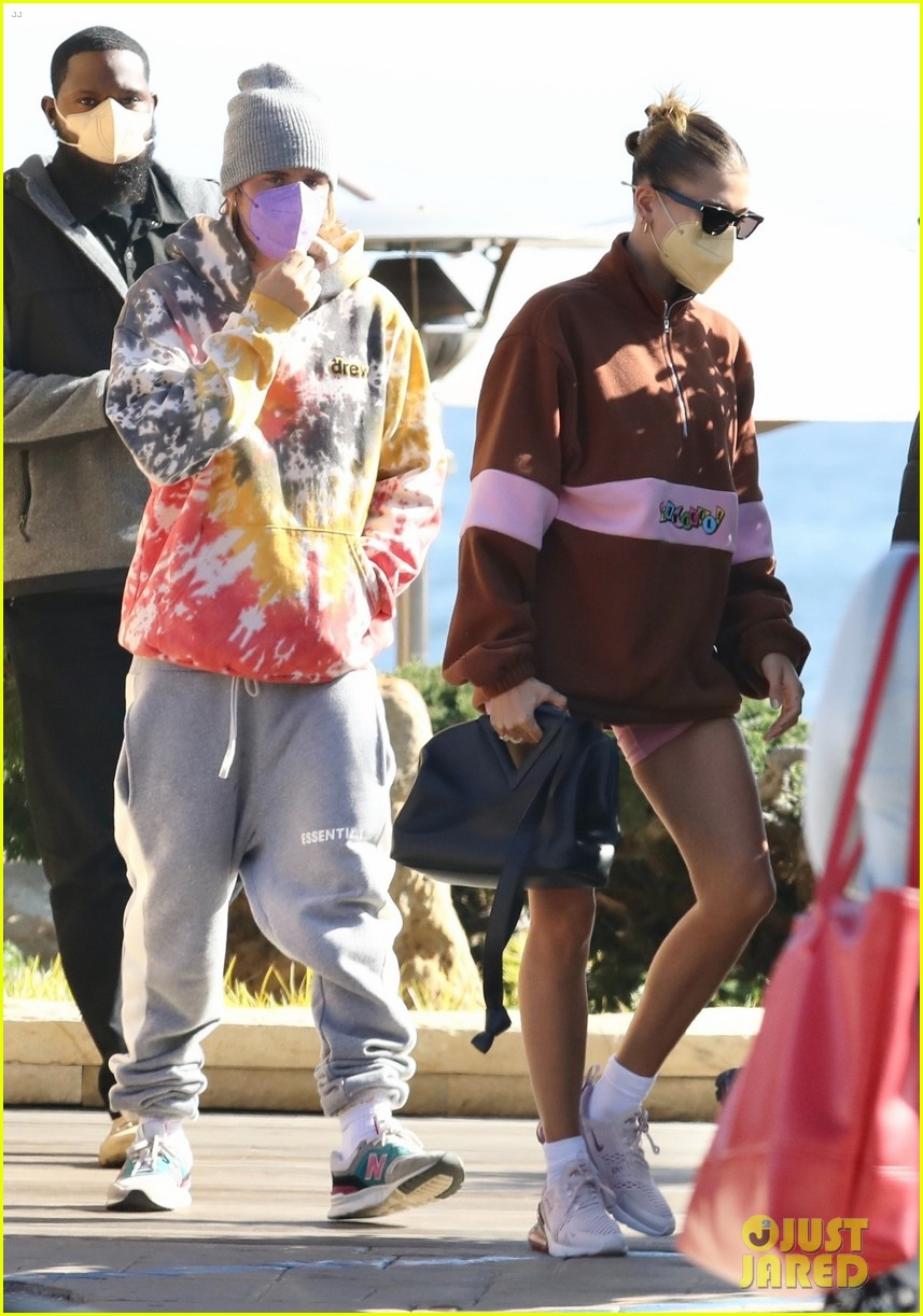 hailey justin bieber lunch nobu unstable quote 014535758