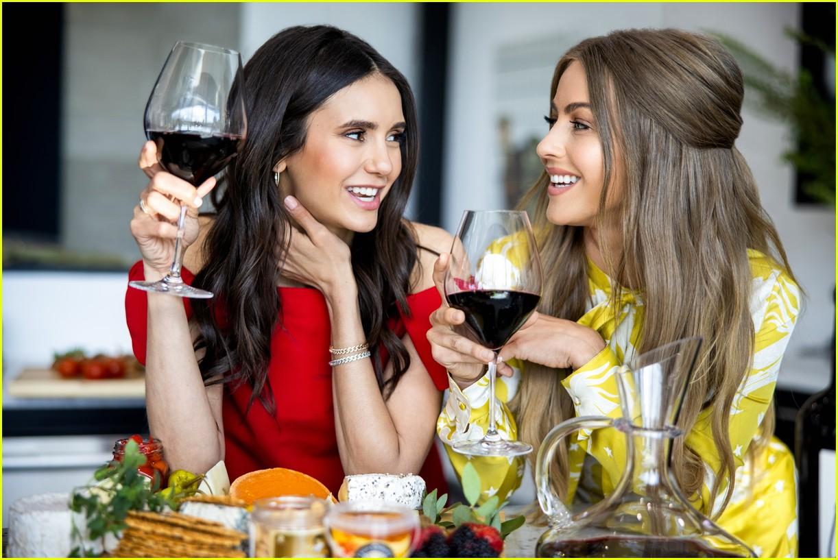 nina dobrev julianne hough wine company 064536132