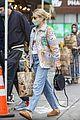emma roberts garrett hedlund grocery store run after baby 47