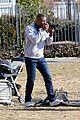 michael b jordan chante adams kiss on jordan set 04