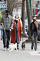madelaine petsch new beau miles chamley watson go on dog walk 13