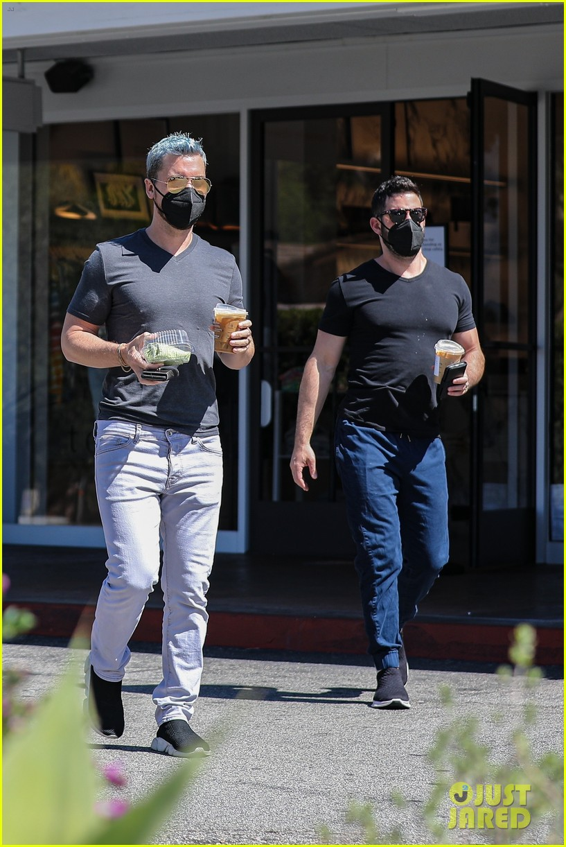 lance bass michael turchin coffee run in bel air 014539653