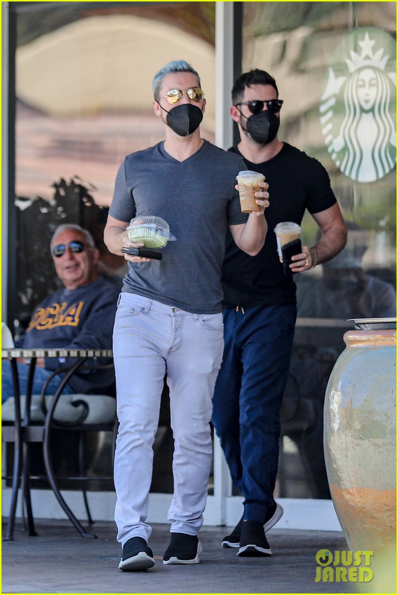lance bass michael turchin coffee run in bel air 034539655