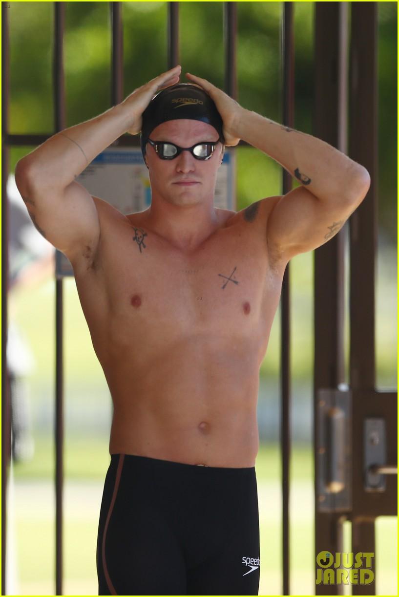 cody simpson marloes stevens aussie swim race pics 124544220