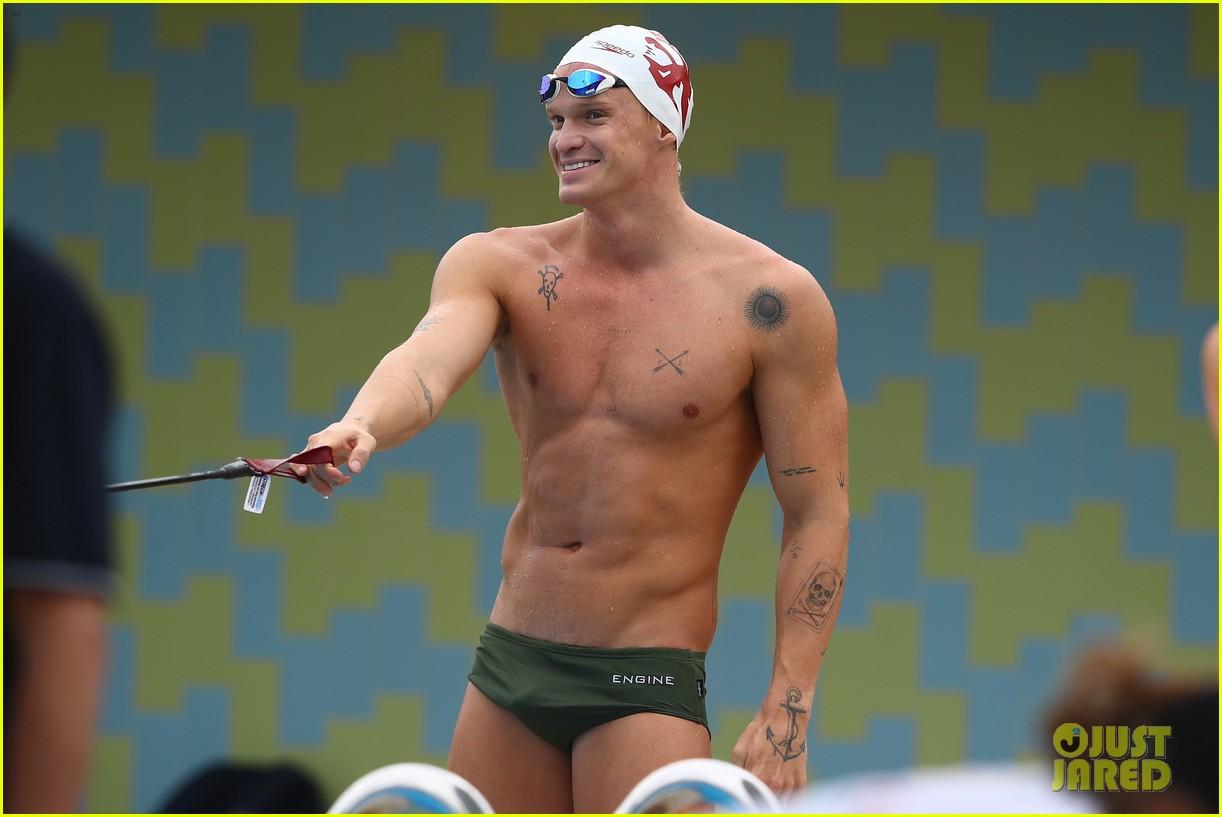 cody simpson marloes stevens aussie swim race pics 164544224
