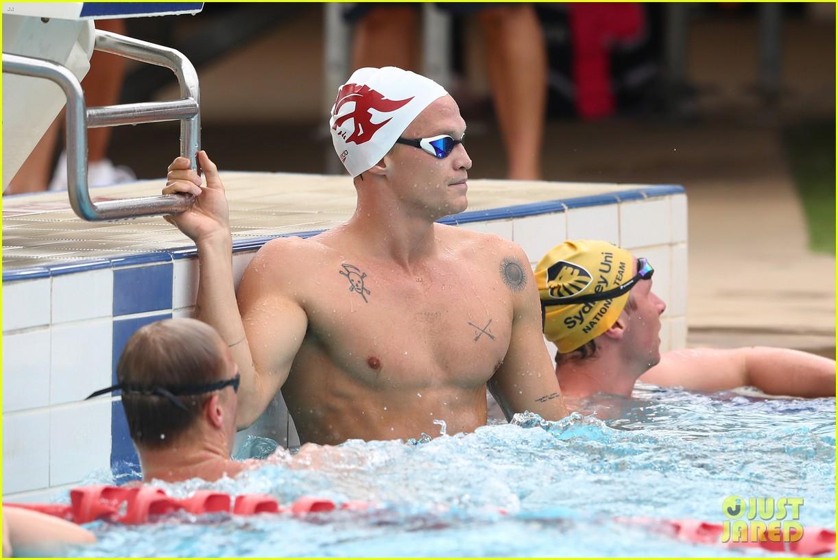 cody simpson marloes stevens aussie swim race pics 194544227