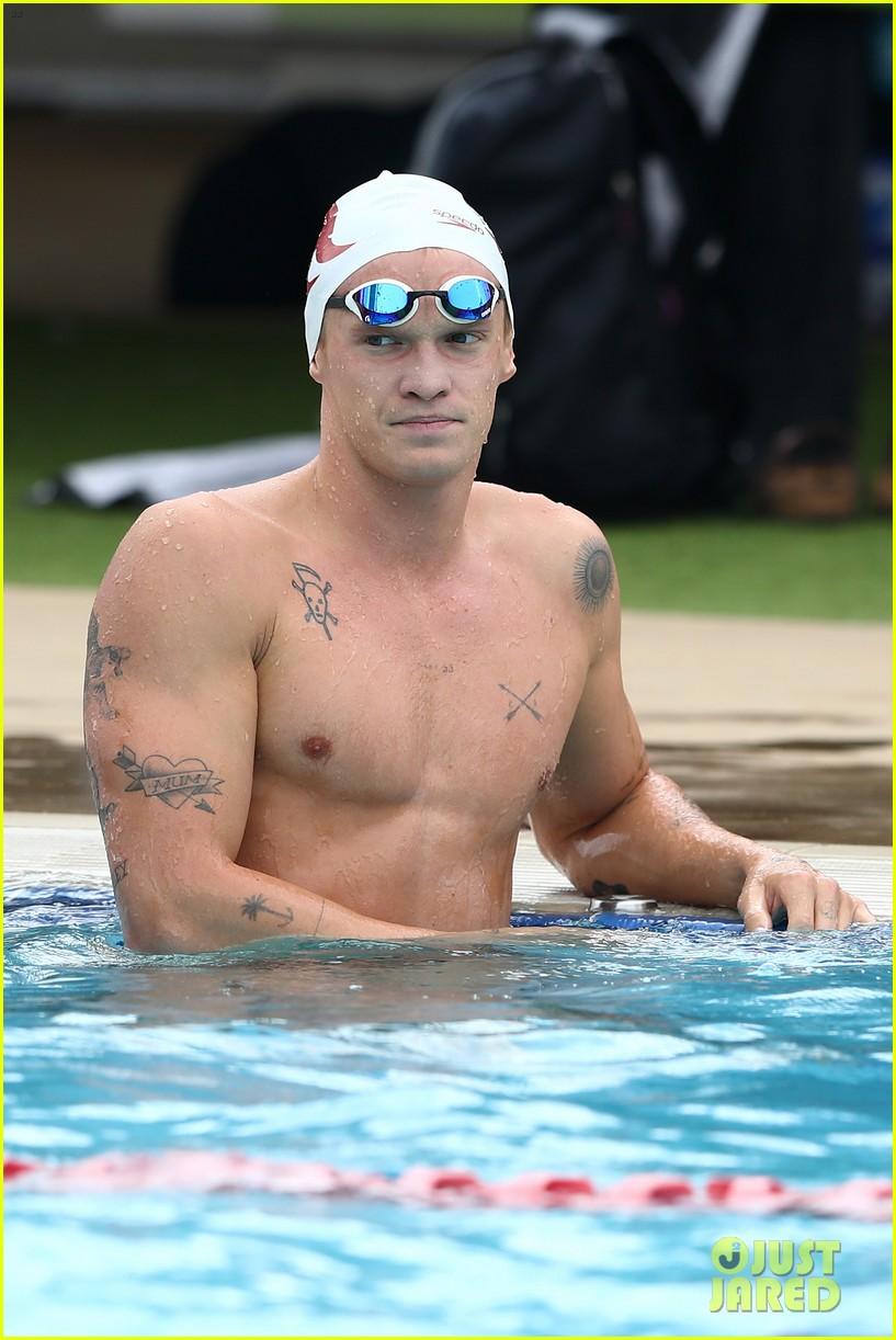 cody simpson marloes stevens aussie swim race pics 204544228