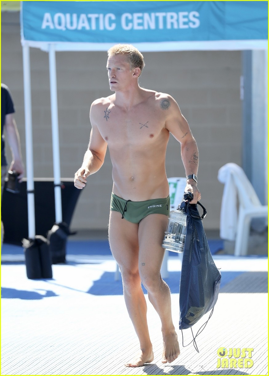 Cody Simpson Puts His Buff Body on Display in Speedo for