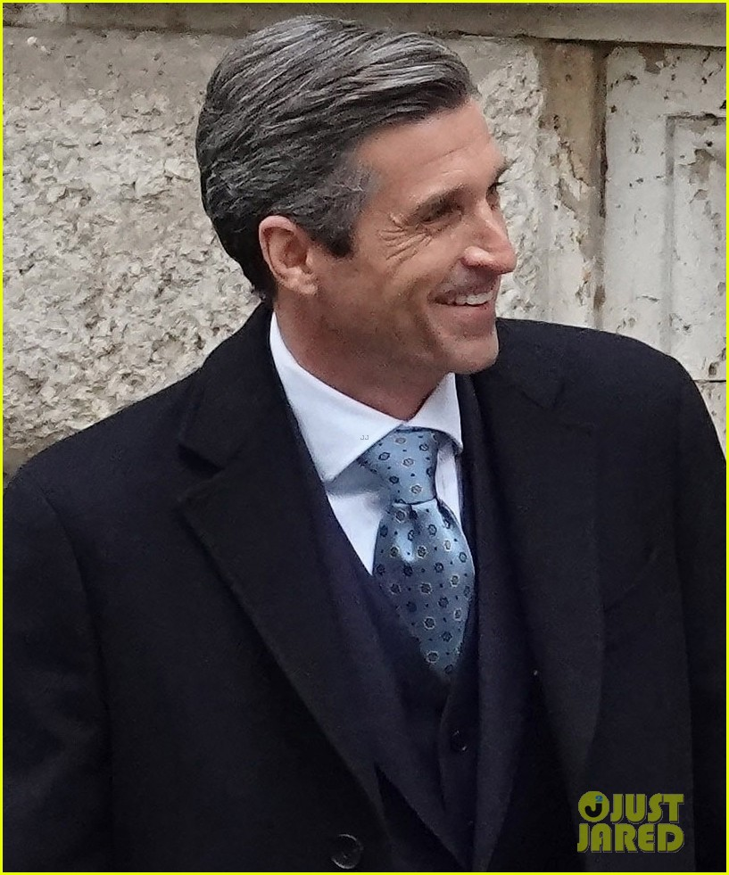 patrick dempsey suits up filming devils season two 064539618